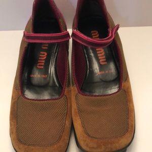 Vintage Miu Miu Loafers